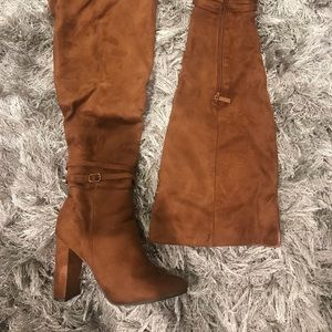 Breckelle's Suede Over the Knee Boot